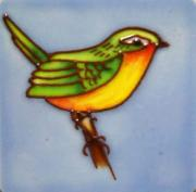 Set of 4 Wren Fridge Magnets