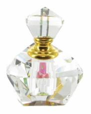 Set of 6 Assorted Crystal Perfume Bottles in Gift Boxes