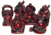Set of 6 Buddhas