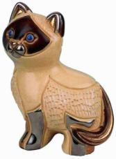 Siamese Cat Rincababy Figurine by De Rosa
