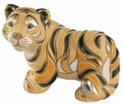 Siberian Tiger, Families Collection Figurine by De Rosa