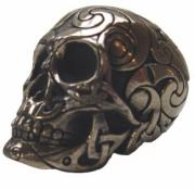 Small Celtic Skull in Bronze Finish by Design Clinic