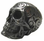 Small Celtic Skull in Gun Metal Finish by Design Clinic