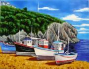 South Coast Ceramic Picture Tile by Kandy 11