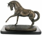 Spanish Horse Cold Cast Bronze Sculpture by Harriet Glen