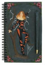 Spider Fairy Notebook with Pen