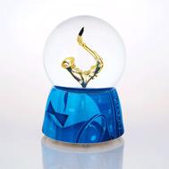 Stylistic Saxophone Waterglobe