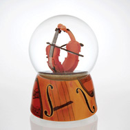 Stylistic Violin Waterglobe