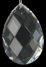 Swarovski Crystal Oval Diamond Facet