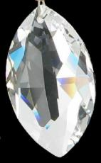 Swarovski Crystal Oval Fine Facet