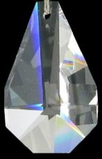 Swarovski Crystal Pear Broad Facet