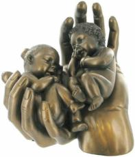 Sweet Dreams 2 Cold Cast Bronze Sculpture by Love Is Blue