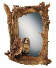Tawny Owl and Mice Mirror