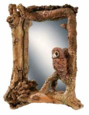 Tawny Owl and Mouse Mirror