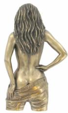 Temptation Cold Cast Bronze Wall Plaque by Love Is Blue