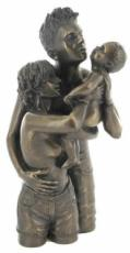 The Gift Of Love Cold Cast Bronze Sculpture by Love Is Blue