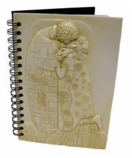 The Kiss by Gustav Klimt Notebook
