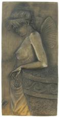 Thought, Cold Cast Bronze Wall Plaque by Beauchamp Bronze
