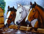 Three Of A Kind Decorative Ceramic Tile By Kevin Walsh 11