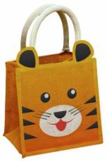 Tiger Jute Bag