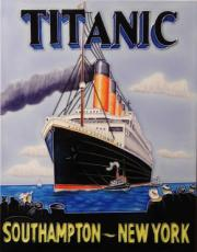 Titanic Decorative Ceramic Tile By Charles Walker 11