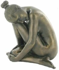 Tranquil Cold Cast Bronze Sculpture by Love Is Blue