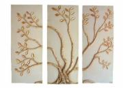 Tree (Set of 3 plaques), Wall Art by Garry White