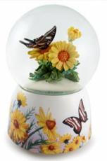 Twinkle Butterfly & Daisies Snowglobe (Tune: Butterfly Kisses)
