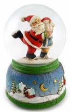 Twinkle Santa & Snowman Snowglobe (Tune: Let It Snow)