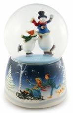 Twinkle Snowman Dancing Snowglobe (Tune: Frosty The Snowman)