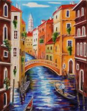 Venezia Canal Ceramic Picture Tile by Daniella Foletto 11