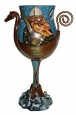 Viking Goblet by Tina Tarrant