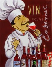 Vin Rouge Ceramic Picture Tile by Shari Warren 11