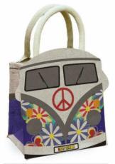 Weekender Camper Van Jute Bag