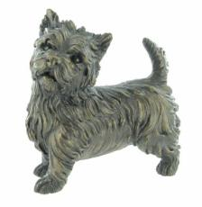 West Highland Terrier, Cold Cast Bronze Sculpture by Beauchamp Bronze