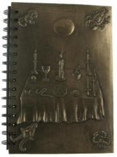 Witchcraft Notebook in Bronze by Tina Tarrant