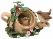 Wrens in a Teapot (Large)