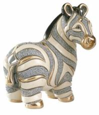 Zebra, Families Collection Figurine by De Rosa