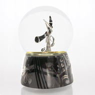 Clarinet Waterglobe