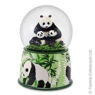 Panda mother & cubs