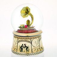 Stylized French Horn Waterglobe